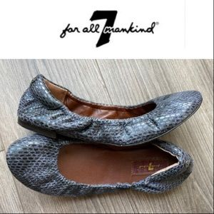 7 For All Mankind Ballet Flats